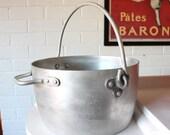 RESERVED INSTANTJIM Large Heavy Aluminium Jam Pot 9litres