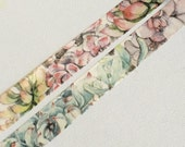 1 Roll of Limited Edition Paper Tape: Succulent Plant World