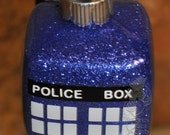 "Dr. Who inspired ""Tardis"" cube Ornament"