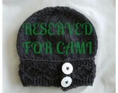 Reserved Listing for Cami