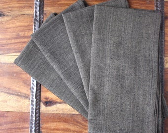 Chestnut Handwoven Cotton Table Napkins