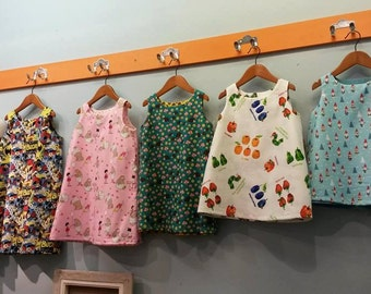 Reversible dress pattern Ages 1-6 years