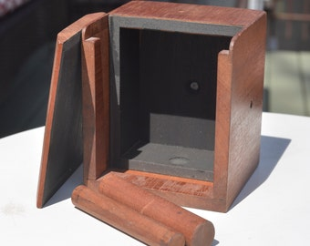 Wooden Pinhole Camera 4x5 Large Format - Photography