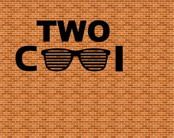 Two Cool Glasses Hipster SVG & Png Files Shades Svg Hipster Shades Glasses Svg