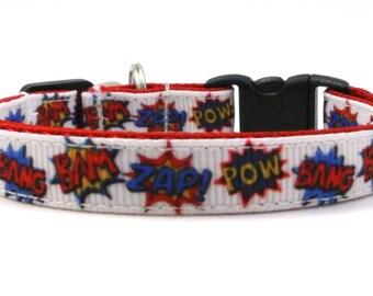 The Super Hero Breakaway Cat Collar