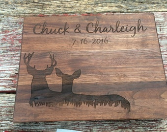 Personalized Cutting Board, Personalized Wedding Gift, Anniversary Gift, Personalized Gifts, Housewarming Gift