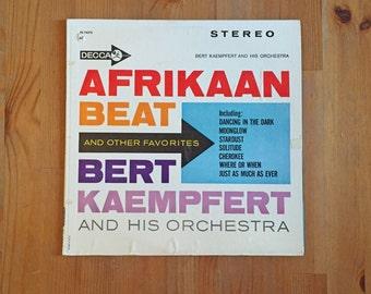 Bert Kaempfert Orchestra – Afrikaan Beat & Other Favorites – Vintage Vinyl Record DECCA 1962
