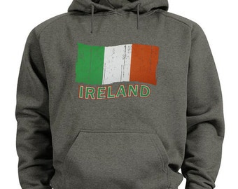 Ireland hoodie Irish flag sweatshirt
