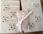 Custom for Erena's Wedding, Ring Pillow, Library Card Pillow, Book Themed Wedding, Book Wedding, Book Pillow, Ring Holder, Ring Bearer