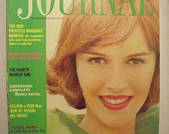 May 1961 The Ladies Home Journal Magazine with the cover By Leombruno Bodi ,has 142 pages , Vintage Woman's Magazine