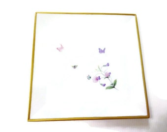 small tray in Limoges porcelain