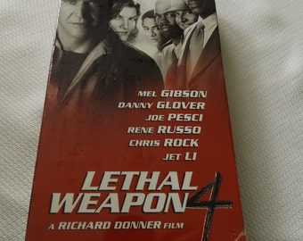 WB Lethal Weapon 4 VHS Tape