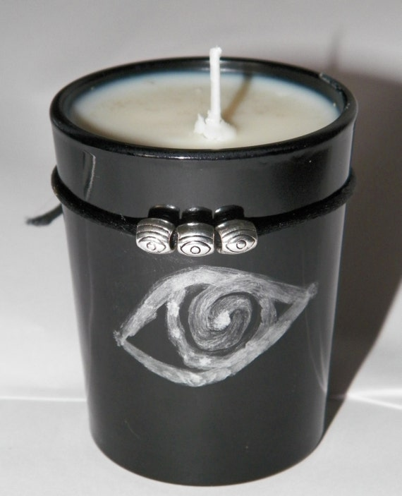Ritual Supply @sshole Repellent© Soy Hand Made Candle Reiki Banishing Binding Ritual Supply