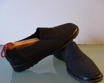 Rangoni Firenze Made in Italy Wedge Heeled Slipons Size 7.5b