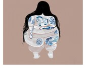 Painted Lady limited edition print by Melbourne artist Tai Snaith