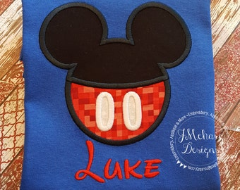 Boy Mouse Custom embroidered Disney Inspired Vacation Shirts for the Family! 733