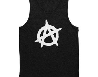 Anarchy Tank Top Black