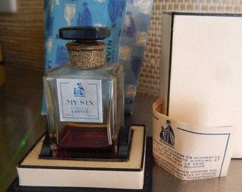 1950s Lanvine Arpege Perfume Extrain Unopened Sealed Paper Boxes
