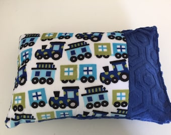 Minky travel pillow, baby pillow