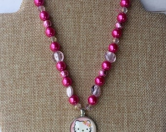 NEWLY REDUCED*** Hello Kitty Necklace for girls