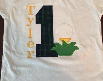 Golf Birthday Shirt