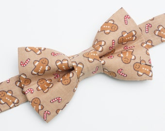 Bow Tie - Gingerbread Man Bowtie