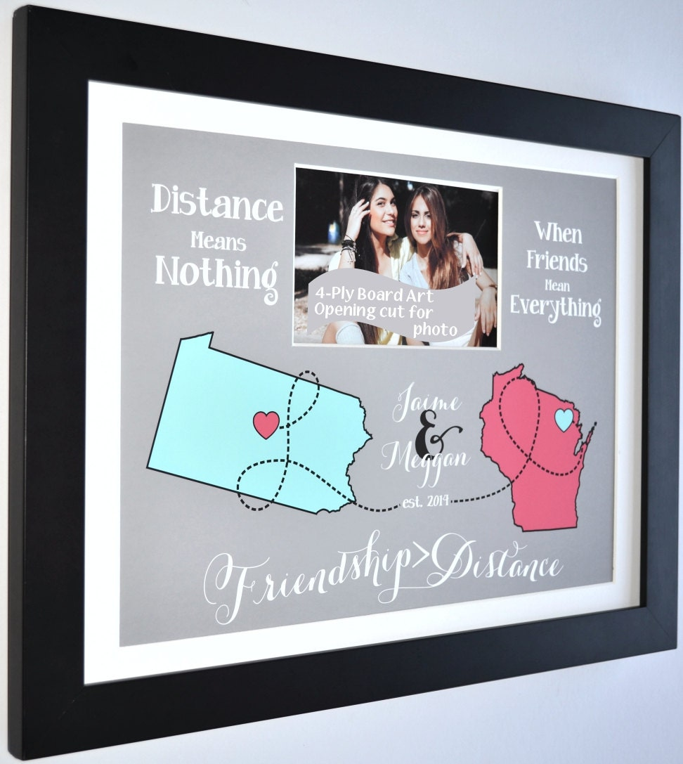 Moving Away Gift For Friend Long Distance Best Friend Gift