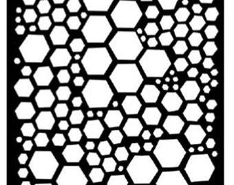 Ranger - Dyan Reaveley - Dylusions - Stencils - Honeycomb - Large