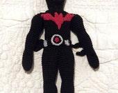 Batman McGinnis textile crocheted figurine doll