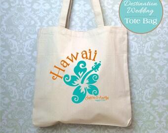 Hawaii Destination Wedding Bag, Design Proof Only, Hawaii Wedding Favors, Destination Wedding Gift, Hawaii Wedding, Wedding Welcome Bag
