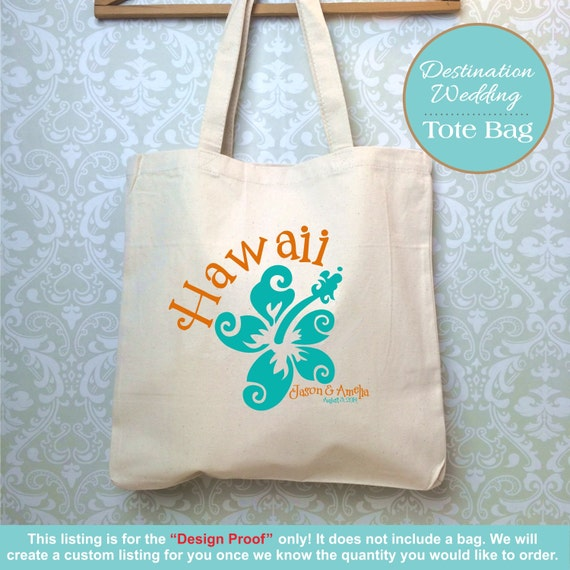 ... Favors, Destination Wedding Gift, Hawaii Wedding, Wedding Welcome Bag
