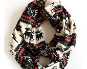 SALE! The Nordic Scarf™ - Christmas Red, Holiday Scarf, Winter Scarf, Nordic Scarf, Gifts for her, Black Friday
