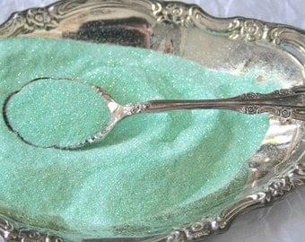 Mint Glitter, Solvent Resistant ULTF, Pistachio Mint