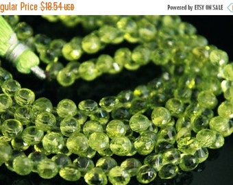 sale AAA Peridot gemstone onion briolette- faceted peridot candy kiss briolette- August birthstone-set of 20 Pcs-5-5.3 mm-Item No.654