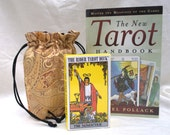 Tarot Kit with Brocade Tarot Bag Tarot Book Rider Waite Deck Free Shipping