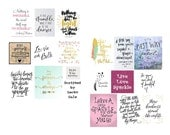 Scripted Digital Collage Set