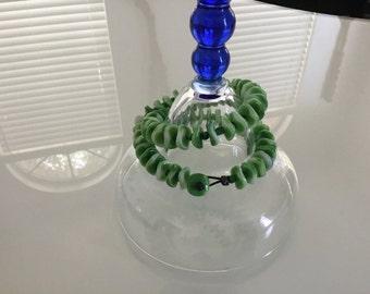Czech Glass  Wrap Bracelet