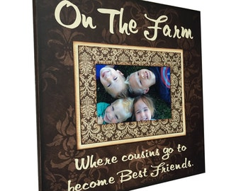 where cousins go to become best friends customize saying customize background design andor color cousins frame