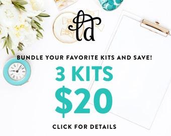 PICK 3 KITS - Buy 2, Get 1 FREE