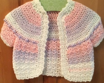 Little girls sweater size 1 to3.