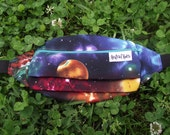 Galaxy Festival Fanny Pack - Outer Space Fanny Pack Rave Fanny Pack