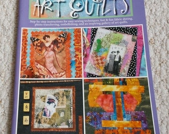 Art Quilts - Beginner's Guide to Art Quilts, Leisuer Arts Publication  by Banar Designs, Softcover Book