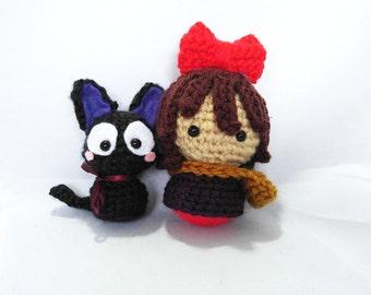 Tiny Kiki's Delivery Servive Dolls Amigurumi Set