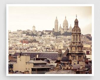 Paris photography - Paris panorama II. - Giclee Art Print,Home decor,Fine art photography,Paris decor,Art print,Art Poster,Gift ideas,Wall