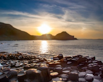 Giants Causeway, Ireland, Irish Shoreline Photo, Northern Ireland, The Emerald Isle, Ireland Photography, Fine Art Photography