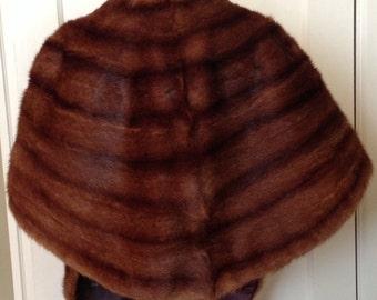 Mid-century Genuine Mink Stole