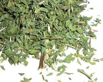 Organic RED CLOVER LEAF - Trifolium Pratense - Vibrant Green - Makes a Lovely Tea