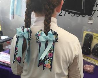 Equestrian Hair Bows
