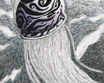 Jellyfish purple