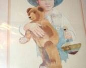 Vintage Needle Treasures Adapted from Original Watercolor by Jan Hagara Jimmy Crewel Kit